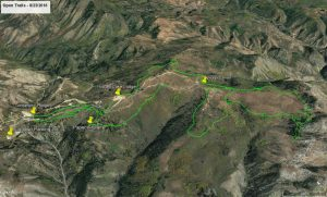 Powder Mountain Trail Map